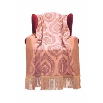 ΡΙΧΤΑΡΙ ΤΡΙΘΕΣΙΟΥ ΚΑΝΑΠΕ  Vieux Rose Parisienne  ΕΗ8035/TP Emilys H Classic 175x270cm