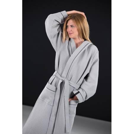Μπουρνούζι Basic Grey XL Guy Laroche