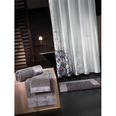 ΚΟΥΡΤΙΝΑ ΜΠΑΝΙΟΥ GUY LAROCHE 1,80x1.90M - THEATRO GREY BLACK