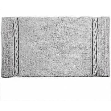 Πατάκι Μπάνιου (55x90) Guy Laroche Knot Silver | ΑΡΧΟΝΤΙΚΟ Home