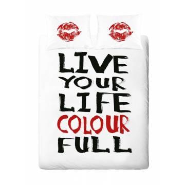 Σέτ Σεντόνια Υπέρδιπλα Palamaiki Irene Collection Live Your Life
