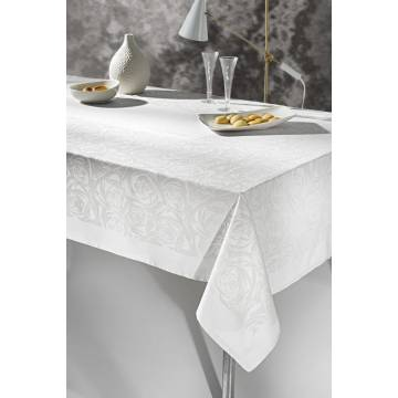 Τραπεζομάνδηλο Aneliz White 160x250,Guy Laroche | ΑΡΧΟΝΤΙΚΟ Home