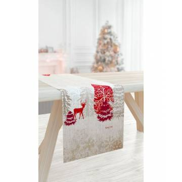 RUNNER CHRISTMAS 2025 SAINT CLAIR - 40X175 | ΑΡΧΟΝΤΙΚΟ Home