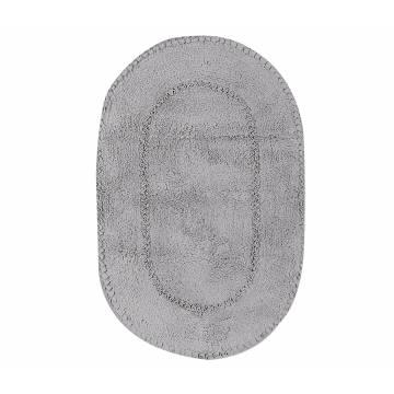 Ταπέτο Μπάνιου Nef-Nef New Crochet 1122-Grey 55x85