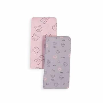 Σετ Σεντόνια Λίκνου Nef-Nef Fashion Baby Pink 70x120