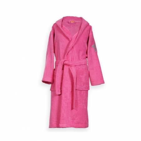 Μπουρνούζι Παιδικό Με Κουκούλα Nef-Nef Junior Kids Hot Pink NO6