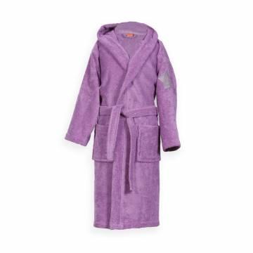 Μπουρνούζι Παιδικό Με Κουκούλα Nef-Nef Junior Kids Purple NO8