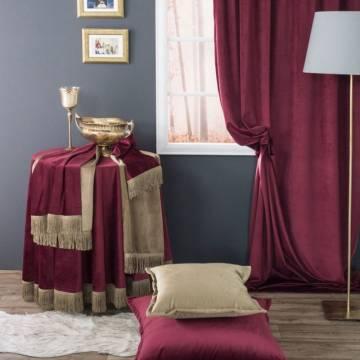 Τραβέρσα Velvet 10 Bordo Teoran | ΑΡΧΟΝΤΙΚΟ Home
